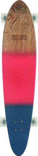 Globe Longboard Pinner Classic, Red/Navy Spray, One Size