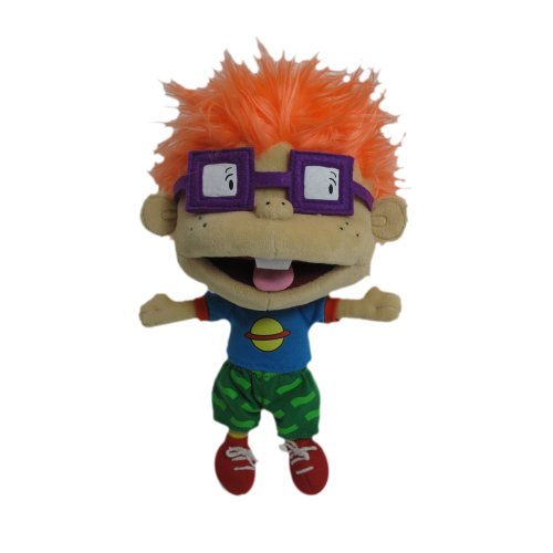 Nicktoons Rugrats Deluxe Classic Plush Chuckie