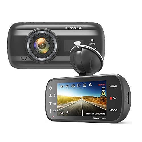 Kenwood DRV-A601W - 4K Ultra HD Dash Cam with 3.0