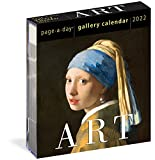 2022 Art Gallery Calendar: A Year of Masterpieces on Your Desk.