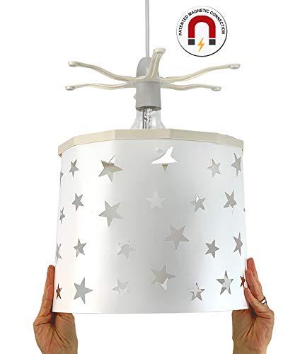 Ereki hanglampenkap ABS hitte- en vlambestendig wit