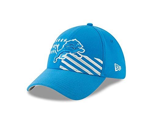 New Era NFL DETROIT LIONS 2019 Official ON-STAGE 39THIRTY Stretch Fit Draft Cap, Größe:S/M