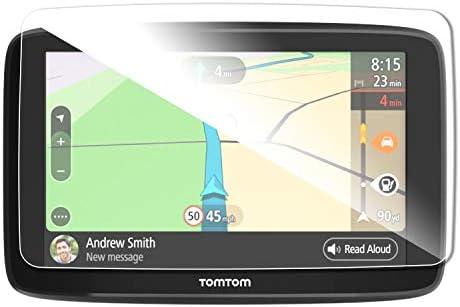 SHAOHAO Auto Navigatie displaybeschermfolie voor Tomtom GO 500 510 5000 5100 GPS transparante beschermfolie krasbestendig 9H antivingerafdruk pantserglas gehard glas