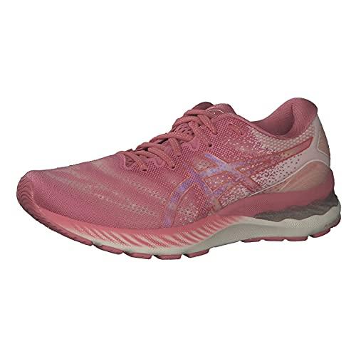 ASICS Damen Gel-Nimbus 23 Road Running Shoe, Smokey Rose/Pure Bronze, 40.5 EU