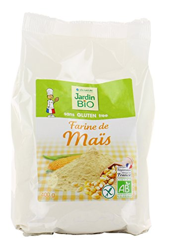 Jardin Bio Farine de Maïs sans Gluten 400 g - Pack de 6