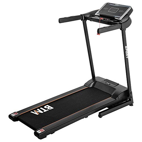 Merax Redliro Treadmill Electric Motorised Folding Running Machine,12 Preset Programs,LCD Display,99% Pre-assembled,2 Years Guarantee