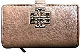 Tory Burch Brown Leather For Women - Flap Wallets