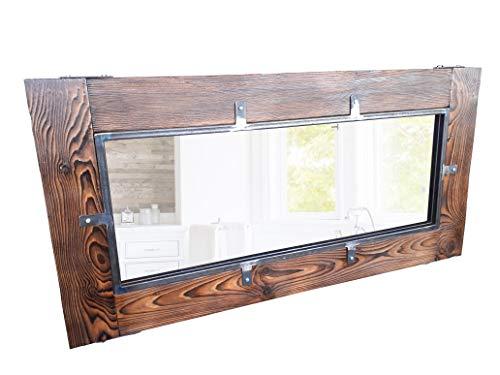 CHYRKA® Spiegel Wandspiegel Holzspiegel Garderobenspiegel LEMBERG Flurspiegel (60x140 cm)