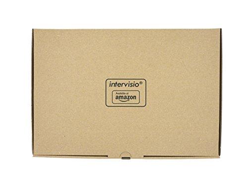 intervisio Kabelbinder 300mm x 4,8mm, schwarz, 300 Stück, Industriequalität Profi Binders