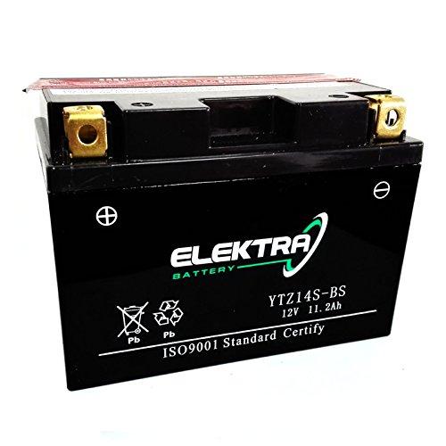 Batteria sigillata Elektra YTZ14S-BS 12 V 11,2 Ah 230 CCA