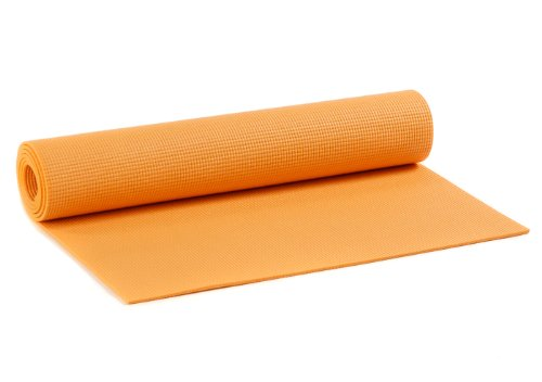 Yogistar Kinder Yogamatte Kids - rutschfest - Orange
