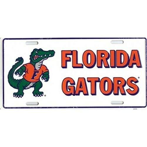 Florida Gators Metal License Plate - 408