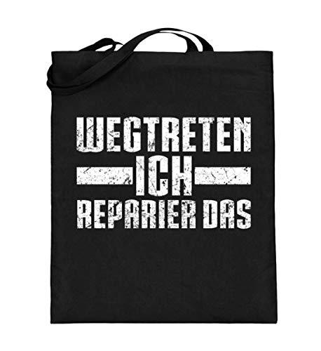 Chorchester Handwerker Ich Reparier Das - Jutebeutel (mit langen Henkeln)