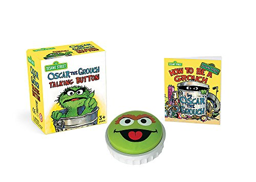 Sesame Street: Oscar the Grouch Talking Button (RP Minis)