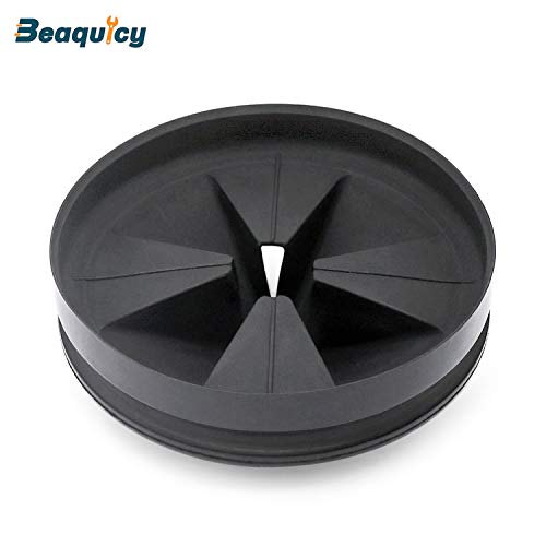 QCB-AM Black Rubber Quite Collar Sink Baffle by Beaquicy - Replacement for InSinkErator