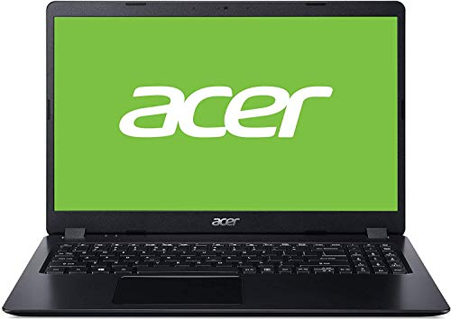 "Acer Aspire 3 - Portátil 15.6"" FullHD (AMD Ryzen 7-3700U, 8GB RAM, 512GB SSD, AMD Radeon RX Vega 10 graphics, Windows 10 Home), Color Negro - Teclado Qwerty Español"