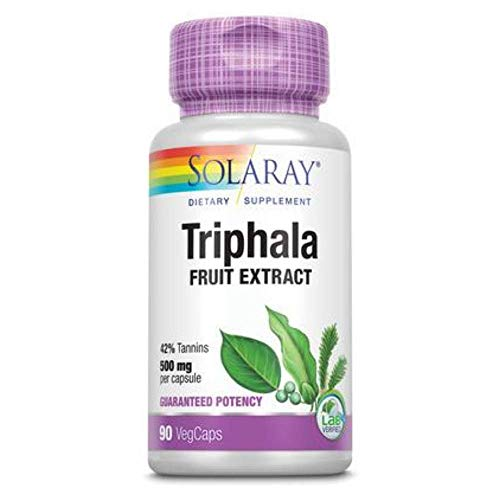 Solaray Triphala 500mg | 90 VegCaps