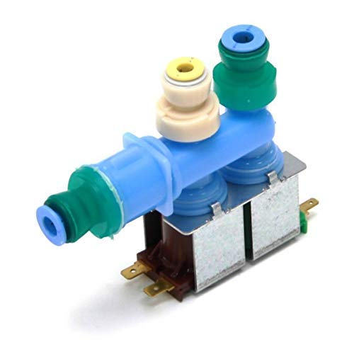 Kitchen Basics 101 W10312696 Refrigerator Water Inlet Valve Replacement for Whirlpool Kenmore Maytag