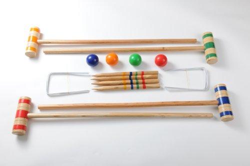 Traditional Garden Games 96 cm Croquet Set
