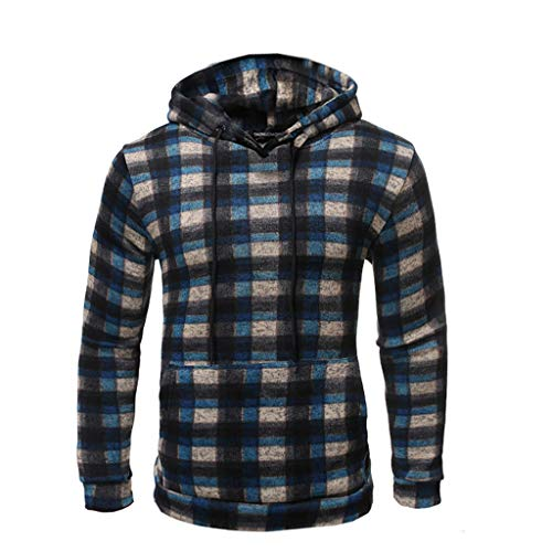 Cinnamou Chemisier Jacket de Sport à Capuche Sweats à Capuche Zipper Slim Hoodies pour Hommes Sweat-Shirts Hiver Sweat à Capuche Slim Pull à Capuche Chaud Manteau à Capuch
