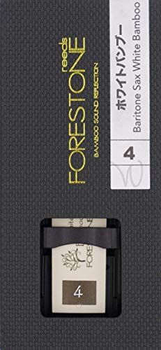 Forestone White Bamboo Synthetic Baritone Saxophone Reed (4.0)