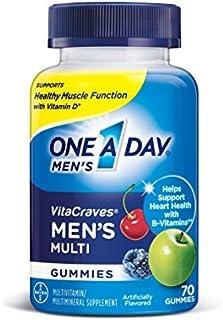 One A Day Men's Vitacraves, 1Pack (230 Count Each) Vmkfl