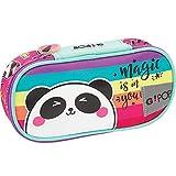 Astuccio Scuola Gopop Panda Organizzato Vuoto Portapenne 22x10x5 cm