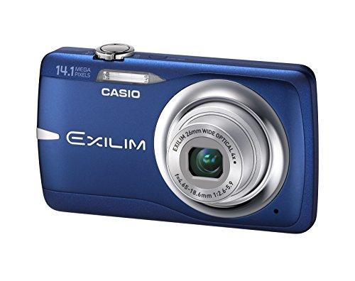 Casio EXILIM EX-Z550 BE Digitalkamera (14 Megapixel, 4-Fach Opt. Zoom, 6,9 cm Display, Bildstabilisator) blau