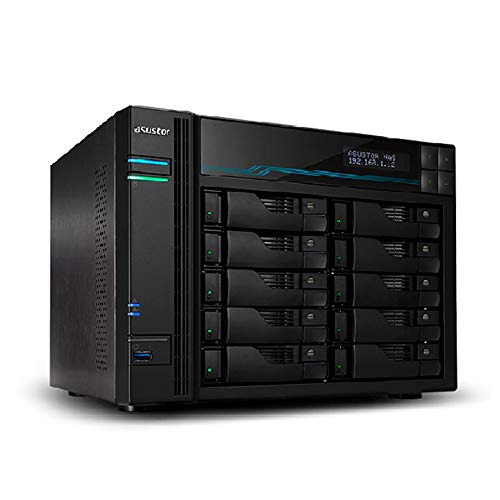 AS7110T - ASUSTOR Lockerstor 10 Pro, Intel Xeon E-2224, 8GB DDR4, 2.5GbE x3, 10GbE x1