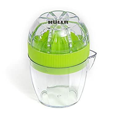 HULLR Lemon Squeezer Lime Juicer Dome Lid and Citrus Storage with Pour Spout
