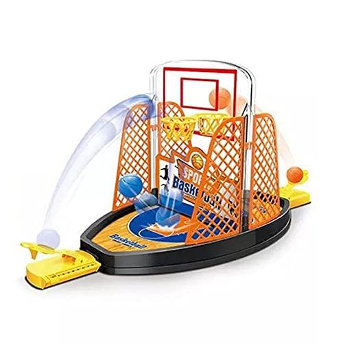 Baloncesto de eyección bidireccional, minijuegos de mesa de cancha de baloncesto, deporte de mesa de interacción entre padres e hijos, juego de proyección de dedos, actividad de escritorio para niños