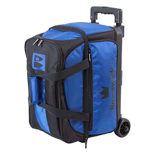 Brunswick Bowlingtasche Blitz Double Roller Blau