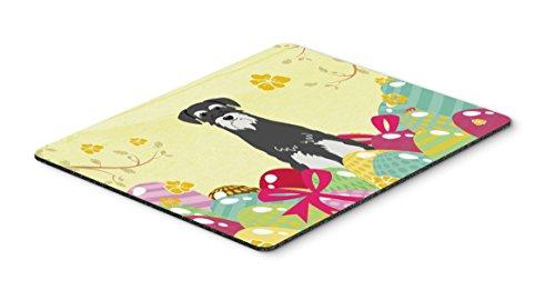 Caroline 's Treasures Maus Pad, Hot Pad oder Untersetzer, multicolor, 7,75x 23,5 Ostereier, Standard-Schnauzer, Salz und Pfeffer 7.75x9.25 mehrfarbig
