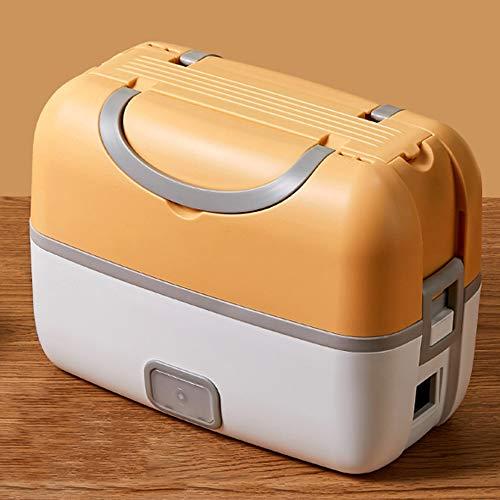 Caja de almuerzo Fiambrera eléctrica preservación del calor enchufable calefacción eléctrica fiambrera portátil fiambrera portátil Fiambrera estanca Fiambrera sellada con aislamiento termoeléctrico