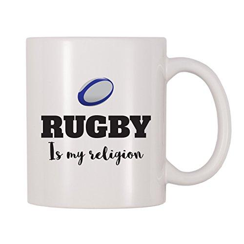 4 All Times Rugby Is My Religion Coffee Mug (11 oz)
