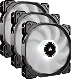 Corsair AF120 LED Low Noise Cooling Fan Triple Pack - White Cooling