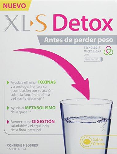 XLS Detox - Ayuda a eliminar toxinas, al metabolismo de la grasa y favorece una...