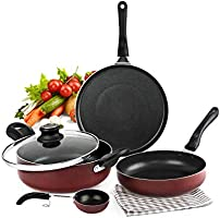 Cooking range - Gast stoves, Pressure cookers, Pots, Pans & more