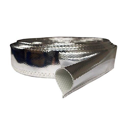 Conector de Tubo de escape /Ø 48/mm x125/mm Acero Inoxidable Universal Conector 2/x Abrazadera de escape 52,5