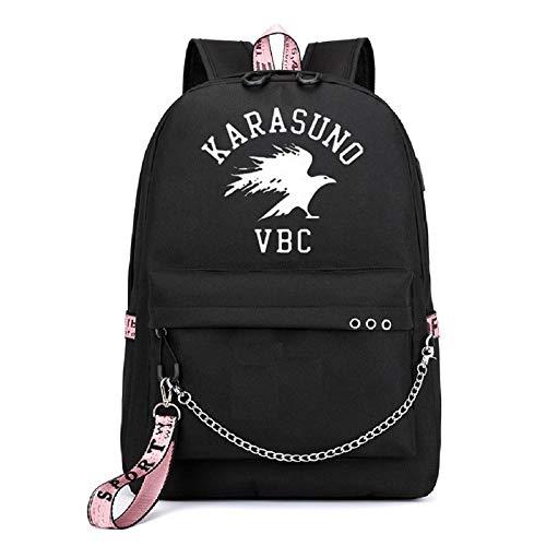 YOYOSHome Haikyuu Anime Cosplay Noctilucence Rucksack Messenger Tasche Rucksack Schultasche