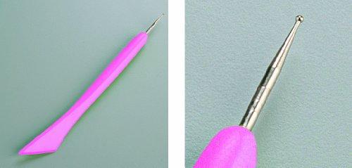 efco Falzbein, Kunststoff, Pink, 18x4x1 cm