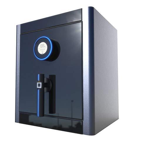 ZSAIMD Caja de Seguridad Caja de Seguridad electrónica, la Huella Digital Segura hogar Seguro/Caja Fuerte/Valor Seguro biométrico de Huellas Digitales Depósito de Carga Frontal cámara acorazada de