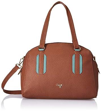Baggit Women's Bowling Handbag (Brown)