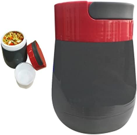 popular always-quality Lunchbox Hot or Cold Food Jug Leak Proof w/Cup lowest BPA/ASBESTOS free 1 LITER sale Vacuum Glass Insulated sale