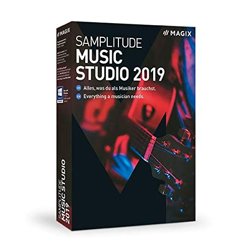 MAGIX Samplitude Music Studio – Version 2019 – das komplette Studio zum...