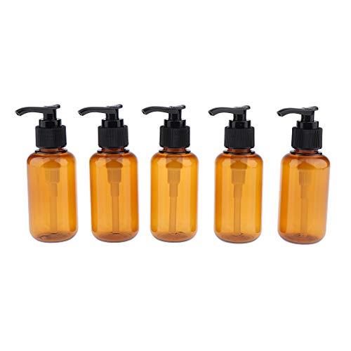 MERIGLARE 5 Piezas Botella de Spray Vacía Cosmética Maquillaje Perfume de Viaje Loción - 100ml