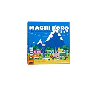 Pandasaurus Games Machi Koro – Family-Friendly Board Games – Adult Games for Game Night – Card Games for Adults, Teens…