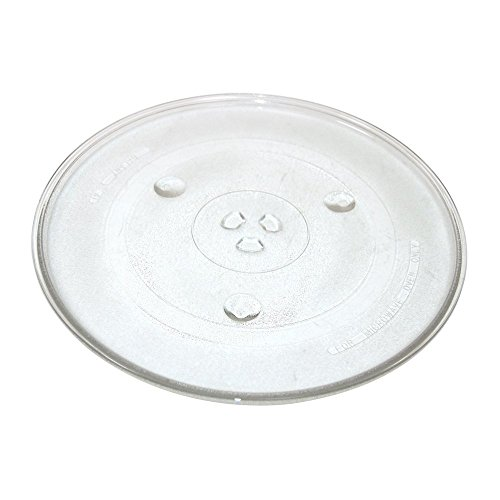 Invero Strong Durable Universal Microwave Turntable Glass Plate with 6 Fixers (315mm)