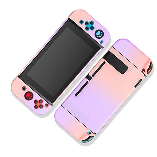 Homi2019 Funda acoplable para Nintendo Switch, funda protectora para Nintendo Switch y controladores Joy-Con