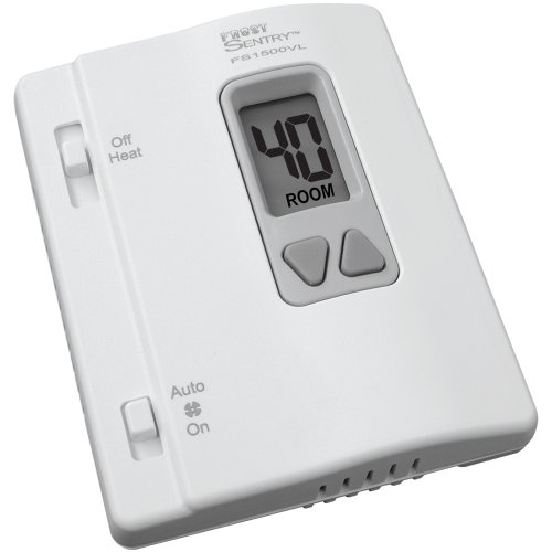 ICM Controls FS1500VL Frost Sentry Garage Thermostat for Single-Stage Heating System, Multicolor